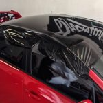 Dán nóc đen xe hơi ô tô – Dán nóc đen Panorama – Decal màu đen bóng