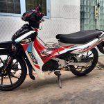 Tem xe Xipo – Thiết kế tem trùm, tem rời xe Xipo – Sport – Satria 2000 đẹp nhất