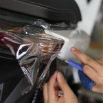 Dán decal xe chống trầy xe sh