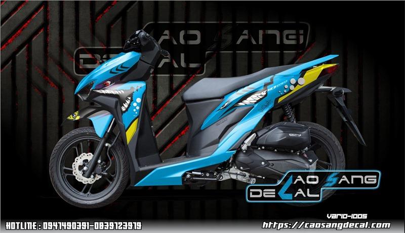 【Thiết Kế - In - Dán】Decal xe máy ô tô làm theo yêu cầu đẹp nhất tại Cao Sang
