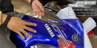 Dán phim (film) PPF bóng và PPF mờ cho xe Yamaha Exciter