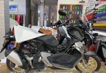 【Tư vấn】Dán phim PPF mờ xe Honda ADV ở đâu tốt?