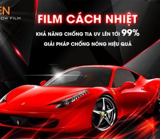 Cao Sang địa chỉ dán phim cách nhiệt ô tô Tp HCM chính hãng đẹp uy tín